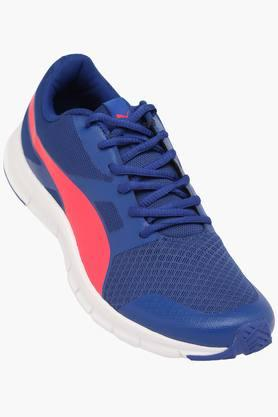 PUMA Mens Mesh Lace Up Sports Shoes  ...