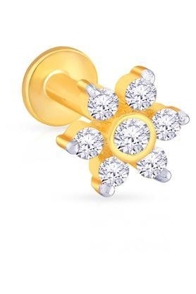 MALABAR GOLD AND DIAMONDSWomens Diamond Nosepin UINSP00077