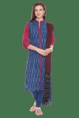 BIBAWomen Printed Churidar Suit
