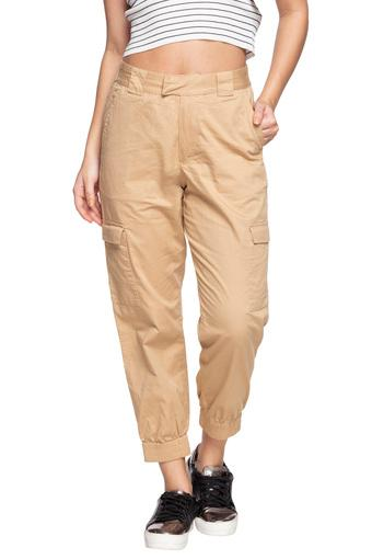 ONLY -  Brown MixPants - Main