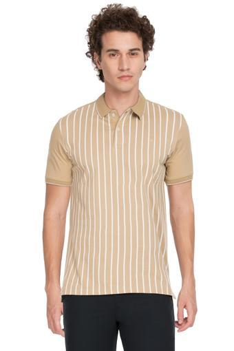 LOUIS PHILIPPE -  Brown T-shirts - Main