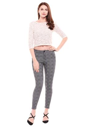 KRAUS - GreyTrousers & Pants - 3