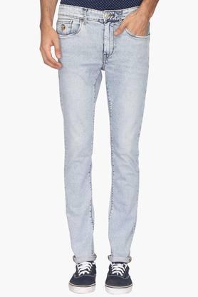 U.S. POLO ASSN. DENIMMens 5 Pocket Rinse Wash Jeans (Regallo Fit)