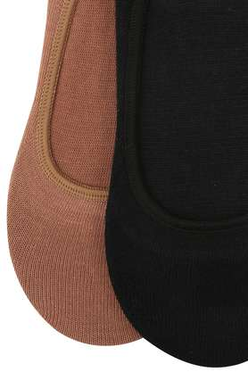 Womens Solid Knitted Socks Pack of 2