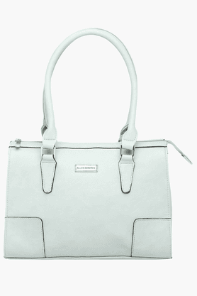ELLIZA DONATEINWomens Zipper Closure Tote Handbag