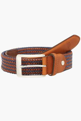 U.S. POLO ASSN. Mens Buckle Closure Casual Belt