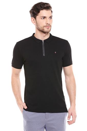 LOUIS PHILIPPE JEANS -  BlackT-Shirts & Polos - Main