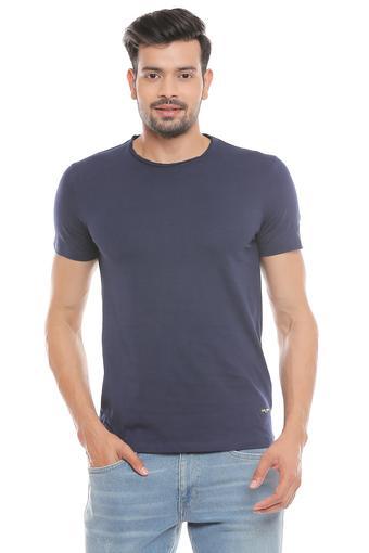 BEING HUMAN -  NavyT-shirts - Main