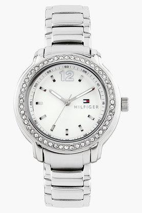 Tommy Hilfiger Women Analogue Metallic Watch image