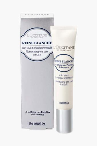Womens Reine Blanche Illuminating Eye Care & Mask - 15ml