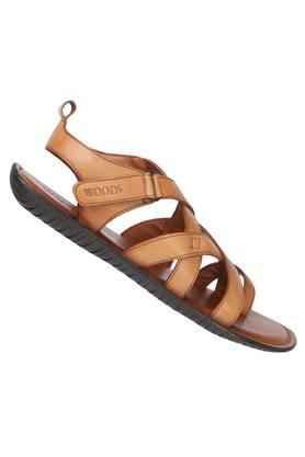 WOODLAND - TanSandals & Floaters - 1