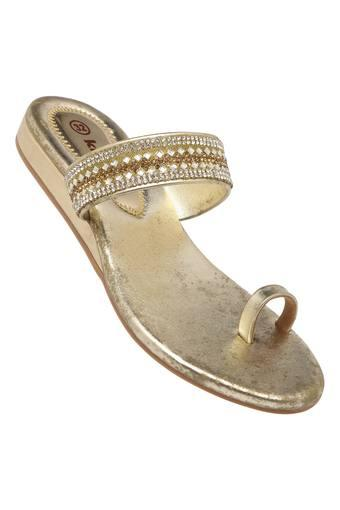 Girls Party Wear Slipon Flats