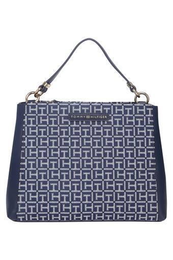 TOMMY HILFIGER -  NavyBlack & White_Handbags & wallets - Main