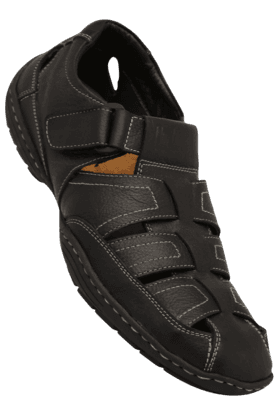 LEE COOPER Mens Velcro Closure Sandal