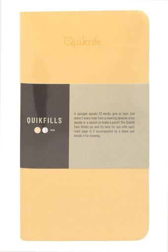 Quikfill Pennline Twin Notebook - Pack of 2