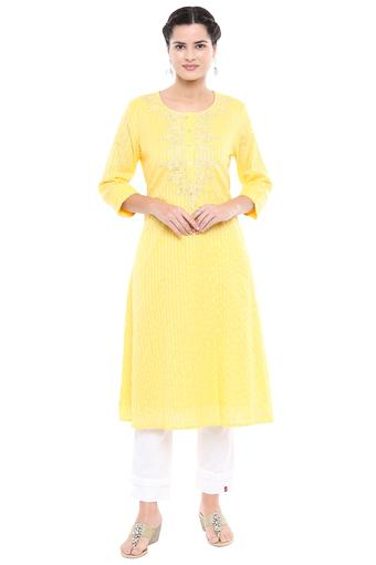 STOP -  Lemon Kurtas - Main