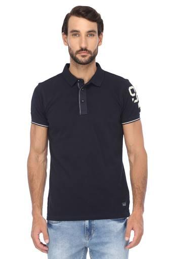 SPYKAR -  Navy T-shirts - Main