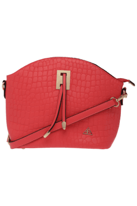 FLAUNT Womens Textured Sling Bag