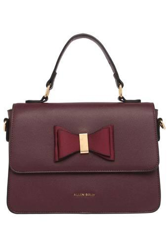 ALLEN SOLLY -  Burgundy Handbags - Main