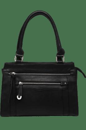 AUSTIN REEDWomens Front Zipper Lock Tote Handbag