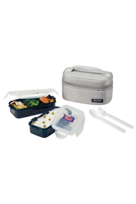 LOCK & LOCK Gray Lunch Box Set - 2 Pieces