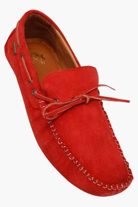RED TAPE Mens Suede Slipon Moccasins