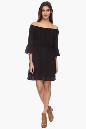 Womens Off-shoulder Casual Mini Dress