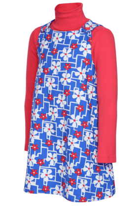 Girls Pinafore with T-shirt