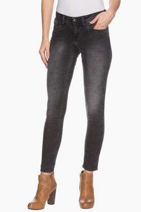 Womens Stonewashed Jeans