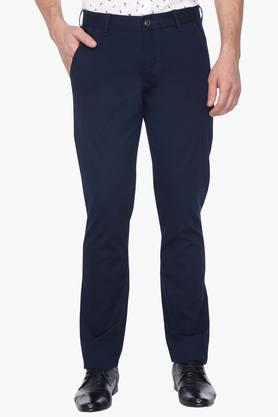 ARROW SPORT Mens 4 Pocket Solid Trouser (Chrysler Fit ) - 201241143