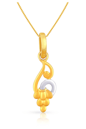 MALABAR GOLD AND DIAMONDS Womens Malabar Gold Pendant - 201594408