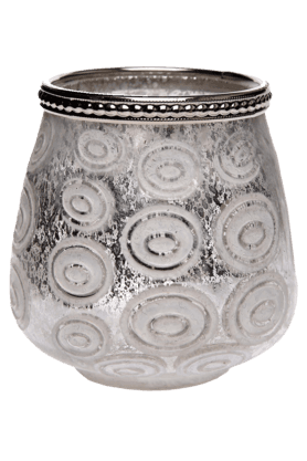 IVYGold With White Circles Votive