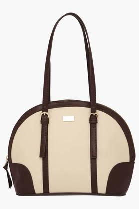 SATYA PAUL Womens Zipper Closure Shoulder Handbag  ...