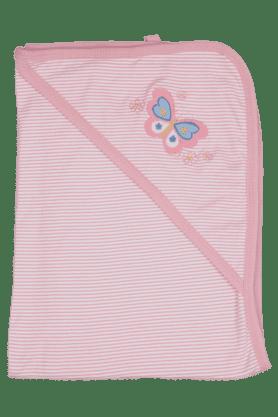 Girls Striped Terry Wrap