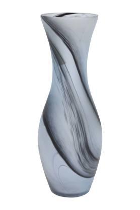 Swirl Printed Conical Vase