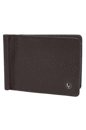 ALLEN SOLLY -  Brown Wallets - Main