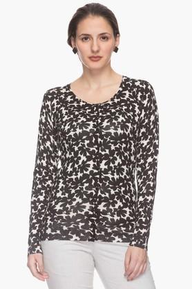 VAN HEUSENWomens Printed Sweater