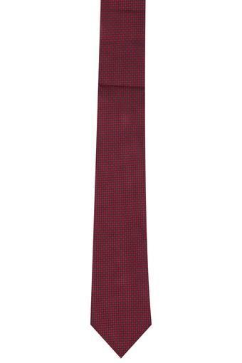 Mens Houndstooth Print Formal Tie