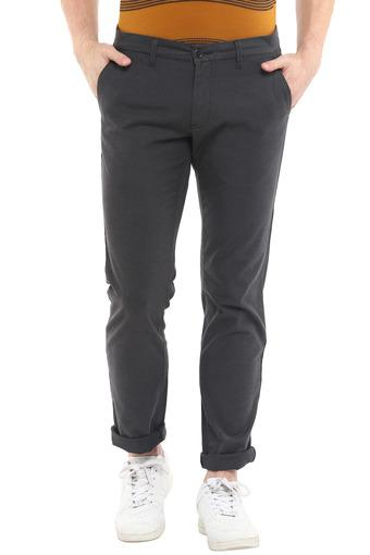 LOUIS PHILIPPE SPORTS -  Grey Cargos & Trousers - Main