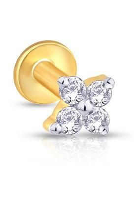 MALABAR GOLD AND DIAMONDSWomens Mine Diamond Nosepin NP51094