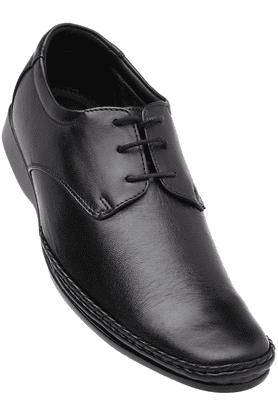 FRANCO LEONEMens Black Formal Lace Up Shoe