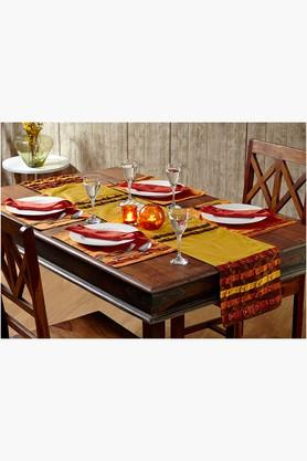 STOA PARIS Multi Colour Multi Colour Table Linen (Place Mat Napkin Sets (12 Pcs) - 202234521