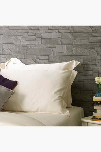 Ivory Solid Pillow Covers (Pillow Cover 18