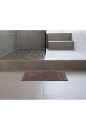 Rectangular Textured Reversible Solid Bath Mat