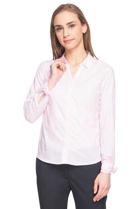 Womens Checked Formal Shirt