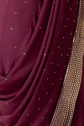 INDYA - Purple Women Ethnic Wear - 4