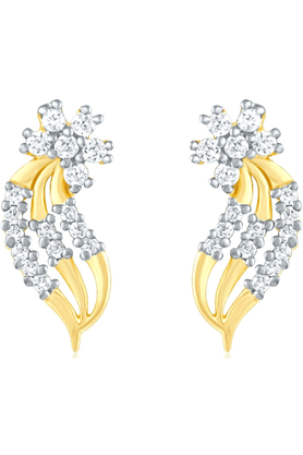 MAHIGold Plated Earrings With CZ For Women ER1103803G