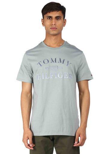 TOMMY HILFIGER -  GreyT-Shirts & Polos - Main