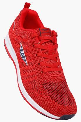 ATHLEISURE Mens Mesh Laceup Sports Shoes