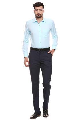 RAYMOND - Petrol Formal Shirts - 3